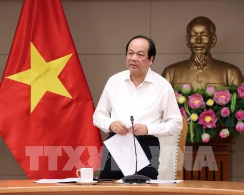 Minister-Chairman of the Government Office Mai Tien Dung (Photo: VNA)