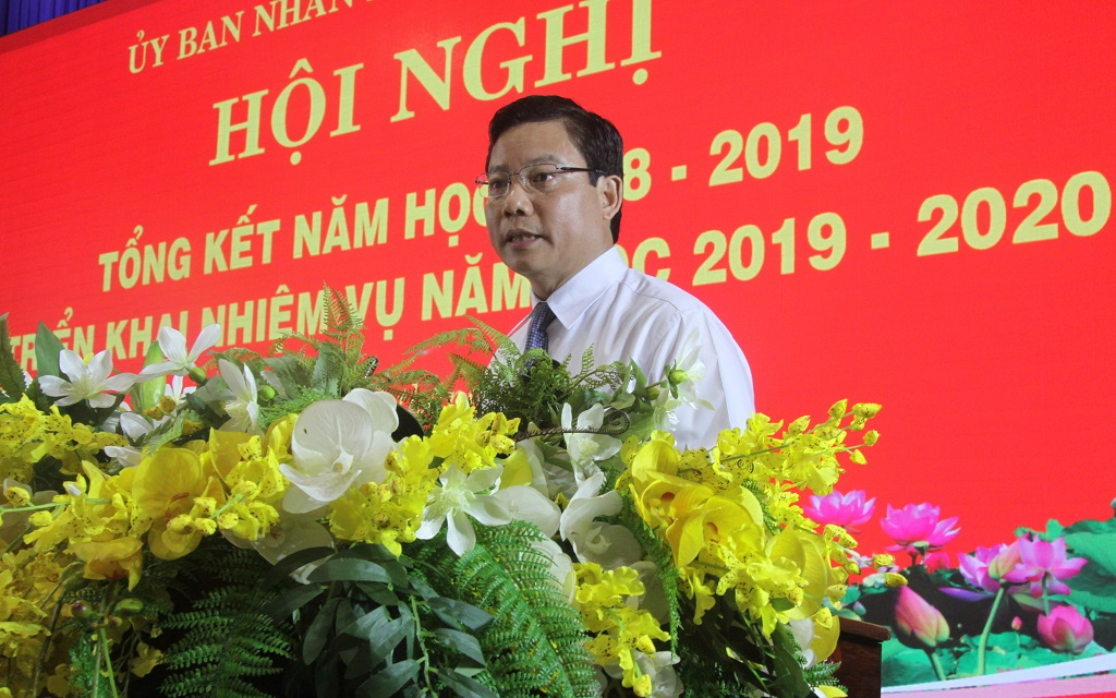 Vice Chairman of Long An provincial People's Committee - Pham Tan Hoa concluded the conference