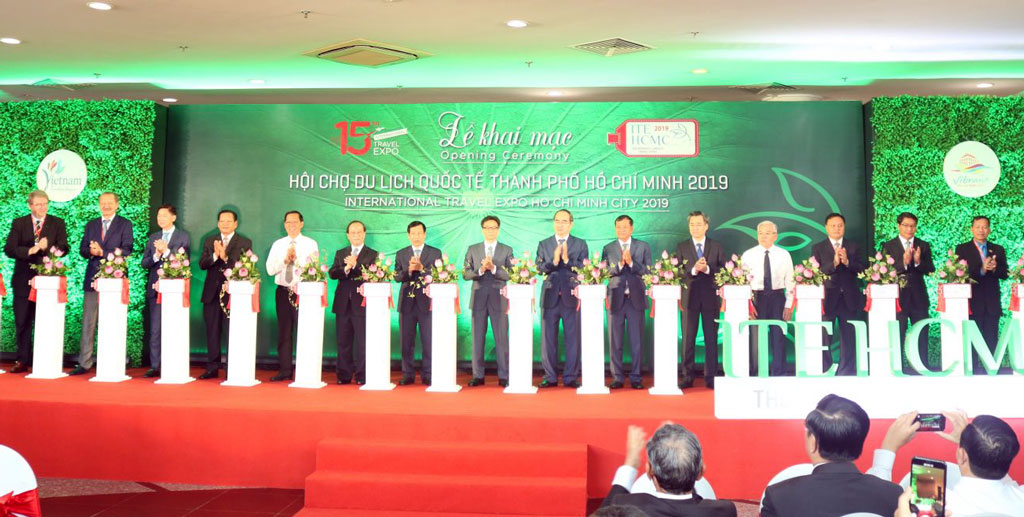 Opening the 15th Ho Chi Minh City International Tourism Fair 2019
