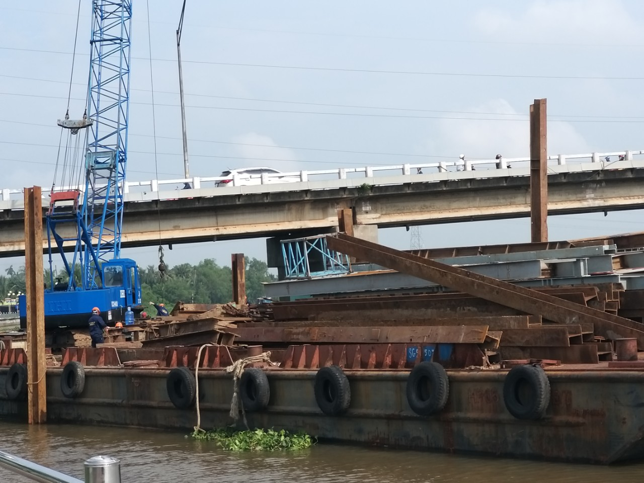 The bridge is expected to be completed in 2020