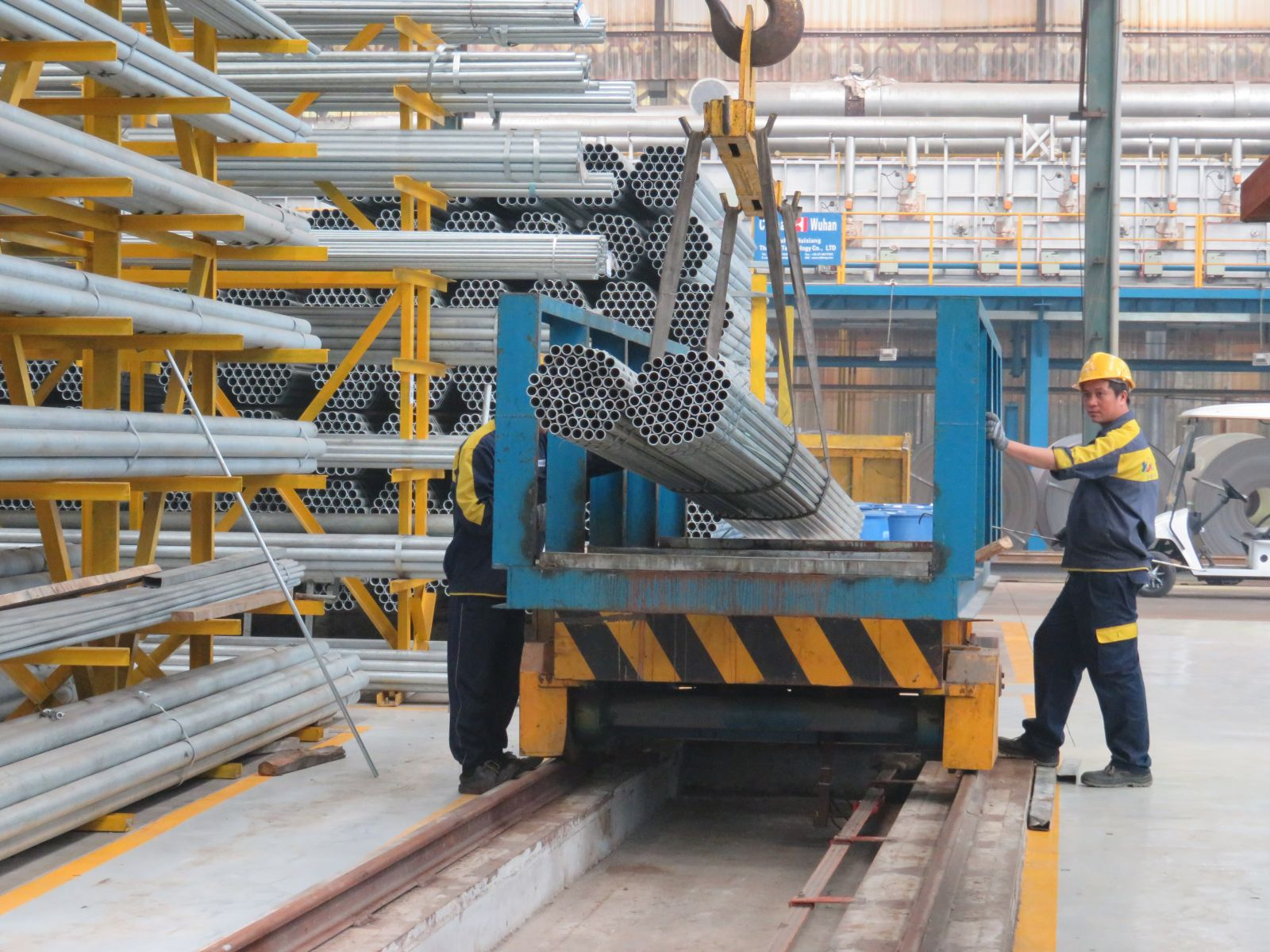 Iron - steel is one of the manufactured products increased in October
