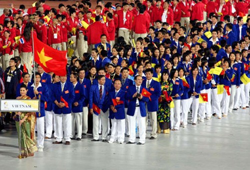 Vietnam's SEA Games squad  (Source: https://thethao.thanhnien.vn/