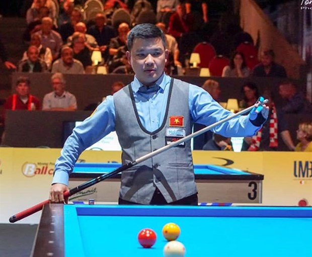 Cuiest Nguyen Duc Anh Chien will take part in the Antalya World Cup in Turkey on February 17-23. (Photo: 24h.com.vn)
