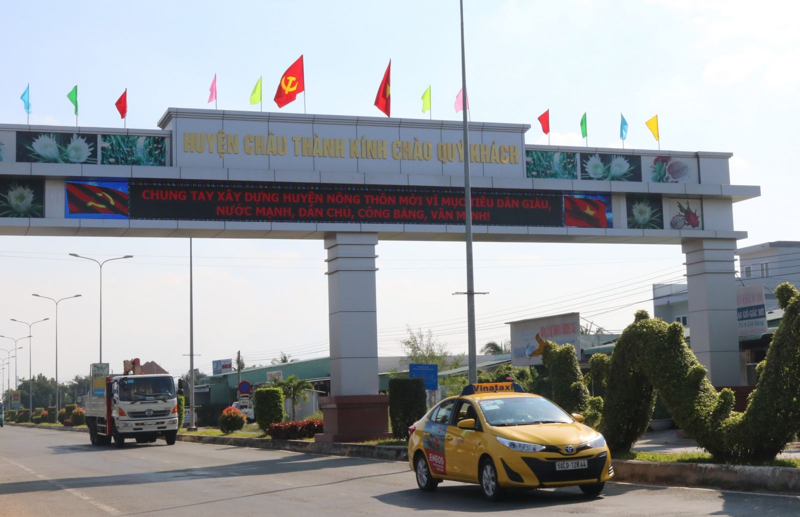 Chau Thanh district is recognized to meet new-style rural standards, marking a strong changing step