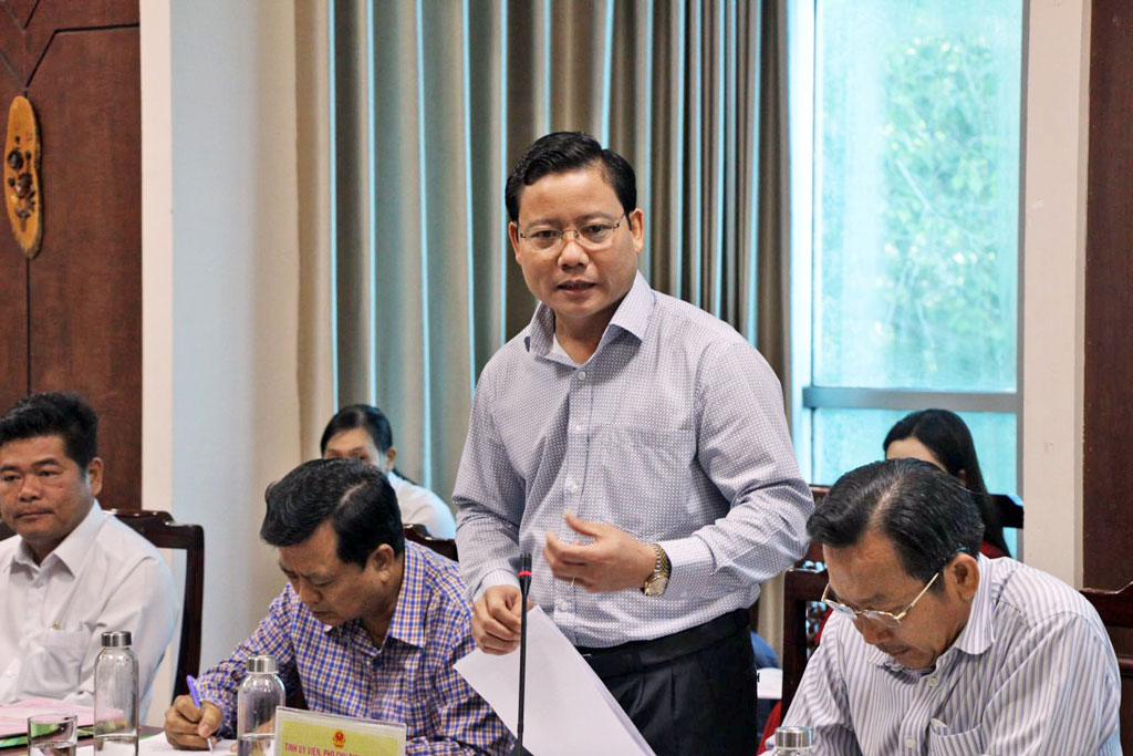 Vice Chairman of the Provincial People's Committee - Pham Tan Hoa promises to create the most favorable conditions for Saigontourist as well as tourism companies in the province in the process of investing in Long An tourism development.