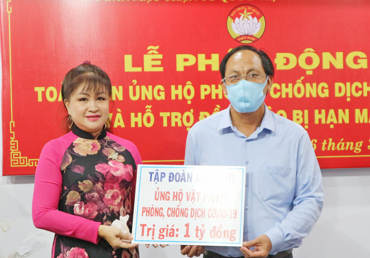 An Nong Group supports 1 billion VND