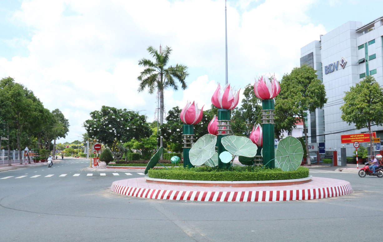 Kien Tuong townlet is trying to meet the grade-III urban targets in 2020